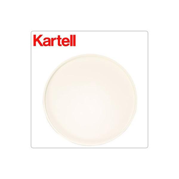 【全品3%OFFクーポン】【お盆もあす楽】[全品送料無料]Kartell (カルテル) EU正規品 コンポニビリ ラウンド 天板 COMPONIBILI ROUND TOP PANEL 4959 ホワイト