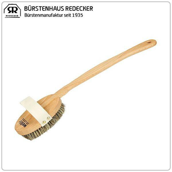 [全品送料無料]Redecker レデッカー Wellfit Badeburste 44.5 cm ボディブラシ/ミディアムハード/バスブラシ 602743 Body Brush (Medium Hard)