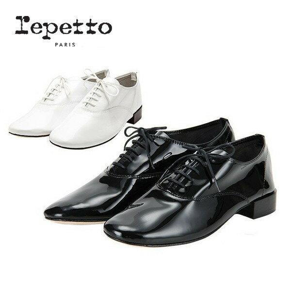 [全品送料無料]レペット Repetto レースアップシューズ ミティークファム ジジ V377V MYTHIQUE FEMME ZIZI レディース オックスフォードシューズ ドレスシューズ 革靴 エナメル