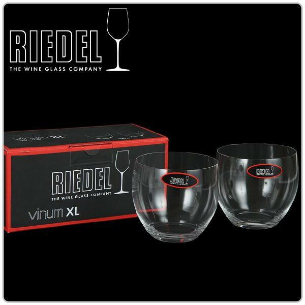 Riedel リーデル Vinum XL ヴィノム エクストラ・ラージ Water ウォーター グラス 2個組 クリア (透明) 6416/20