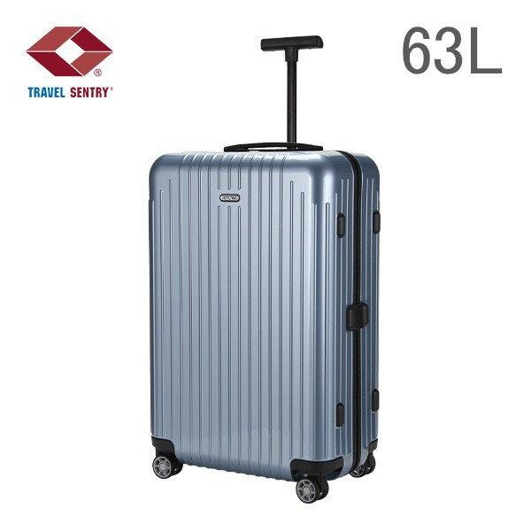 【全品3%OFFクーポン】[全品送料無料]RIMOWA リモワ SALSA AIR 878.63 87863 サルサエアー MULTIWHEEL スーツケース キャリーバッグ アイスブルー 63L (820.63.78.4)