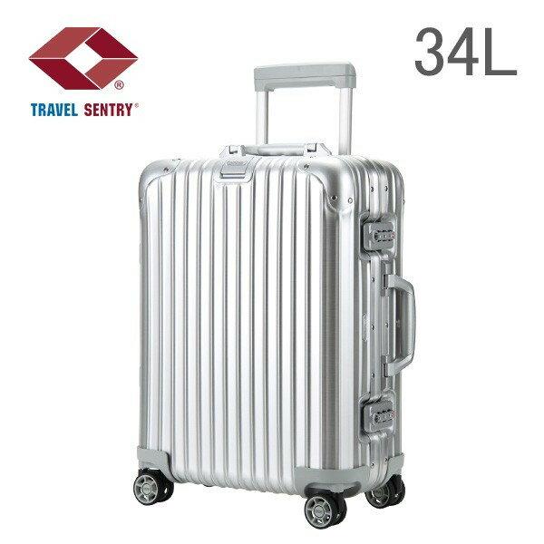 [全品送料無料]RIMOWA リモワ Topas トパーズ 34L Cabin MultiWheel IATA キャビン 4輪 Silver シルバー 923.53.00.4.02 スーツケース