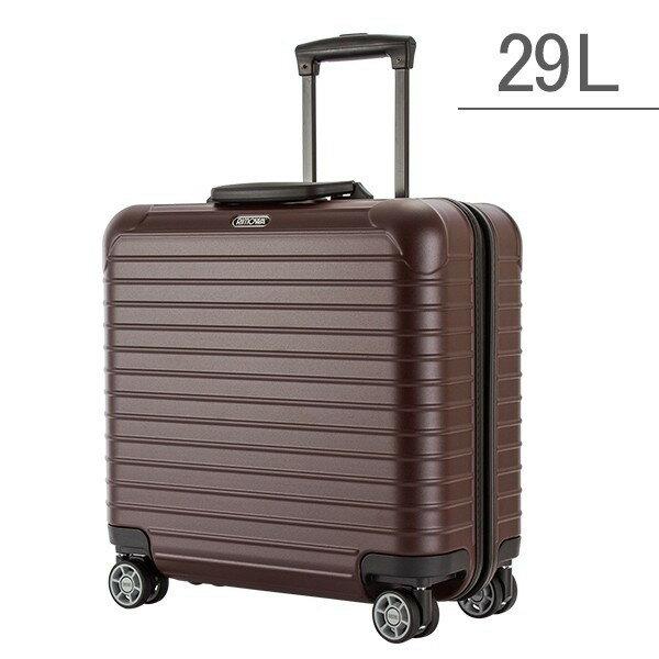 [全品送料無料]RIMOWA リモワ スーツケース サルサ ビジネス マルチウィール 29L キャリーバッグ キャリーケース 旅行 カルモナレッド 810.40.14.4 SALSA Business MultiWheel