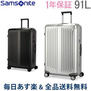 [全品送料無料] サムソナイト Samsonite スーツケース 91L ライトボックス アル スピナー 76cm 122707.0 Lite-Box Alu キャリーバッグ あす楽