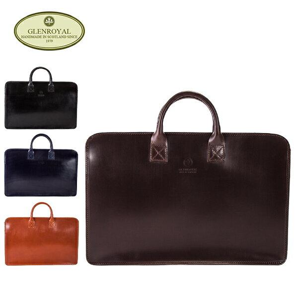 [全品送料無料]グレンロイヤル Glen Royal ブリーフケース ジップトップケース 02-5258 Briefcase Zip Top Case バッグ ビジネス レザー GLENROYAL