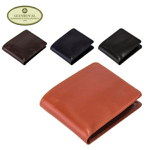 [全品送料無料]グレンロイヤル Glen Royal 二つ折り財布 コインケース付 03-4128 Wallet with Coin Case メンズ 財布 ウォレット レザー GLENROYAL