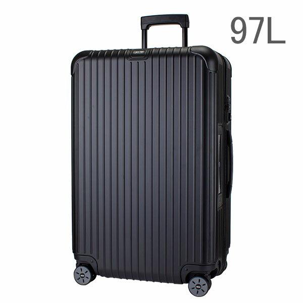 [全品送料無料]【E-Tag】 電子タグ RIMOWA リモワ サルサ 834.77 83477 マルチホイール 4輪 スーツケース ブラック MULTIWHEEL 97L (810.77.32.4) 送料無料