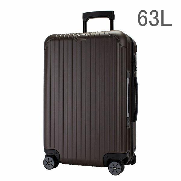 [全品送料無料]【E-Tag】 電子タグ RIMOWA リモワ 810.63.38.4 サルサ SALSA 4輪MultiWheel matte bronze マットブロンズ スーツケース 63L 送料無料
