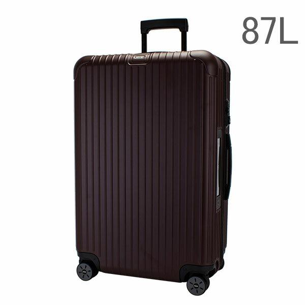 [全品送料無料]【E-Tag】 電子タグ RIMOWA リモワ スーツケース 87L サルサ マルチウィール 810.73.14.4 カルモナレッド SALSA MultiWheel matte carmonarot キャリーバッグ キャリーケース 旅行 送料無料