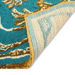 [全品送料無料]アビス&ハビデコールAbyss&Habidecor玄関マットラグマット約70×145cmDynastyダイナスティ高級上質ラメ糸ゴールド華やか上質な肌触り