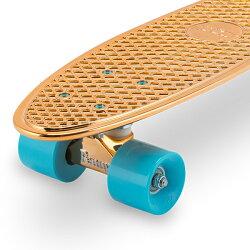 【全品3%OFFクーポン】[全品送料無料]ペニースケートボードPennySkateboardsスケボー22インチMetallicSolidメタリックソリッドPNYCOMPCRUISERスポーツアウトドアストリート