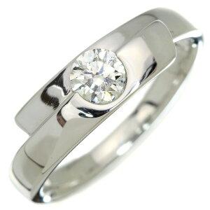 ダイヤモンド リング/指輪 0.343カラット プラチナ900 PT900 肉厚 上質無色の輝くダイヤ シンプル /白・透明(ホワイト)/アウトレット・新品/届10/ラックジュエル luckjewel/1点もの