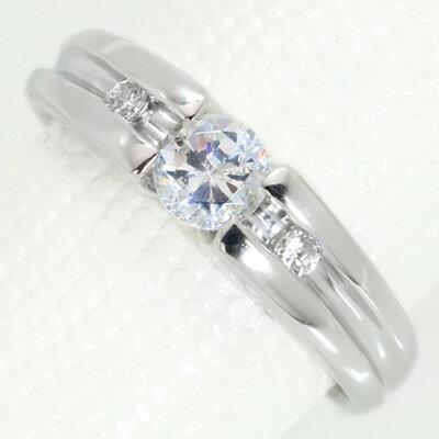 ダイヤモンド(空枠) 0.40 (±0.05ct可)ct用 リング 指輪 枠 K18 PG WG 18金(※プラチナPT追加料金で対応可) リフォーム/1年保証/ラックジュエル luckjewel/