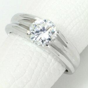 ダイヤモンド(空枠) 1.0(±0.05ct可)ct用 リング 指輪 枠 K18 PG WG 18金(※プラチナPT追加料金で対応可) 肉厚 メンズにもおすすめ リフォーム/1年保証/ラックジュエル luckjewel/