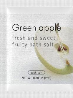 """沐浴盐与果园如果在喜欢! 新鲜水果的香味! """"Flutie 男低音和青苹果""""SS05P03mar13"""