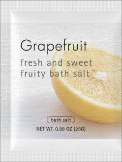 """使用浴盐,和被困在果园中! 清新的水果味! """"Flutie 低音,葡萄柚""""SS05P03mar13"""