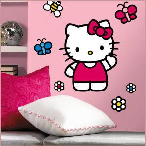 Iyashinokaze: Hello Kitty Giant Wall Stickers Childrenu0027s Rooms, Living Fast  And To Redecorate! 02P11Jan14 | Rakuten Global Market