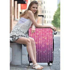 【送料無料】桜柄スーツケース機内持ち込みキャリーバッグキャリーケース旅行カバン軽量smlサイズハードケースファスナーフレームタイプsakura