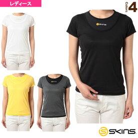 ショートスリーブTシャツ/レディース(SAS2654W)《スキンズ オールスポーツ アンダーウェア》