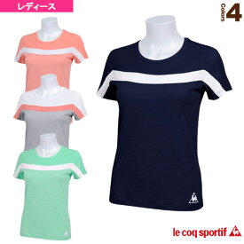 半袖シャツ/レディース(QB-015161)《ルコック オールスポーツ ウェア(レディース)》