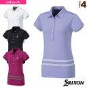 ポロシャツ/レディース(SDP-1623W)《スリクソン テニス・バドミントン ウェア(レディース)》テニスウェア女性用