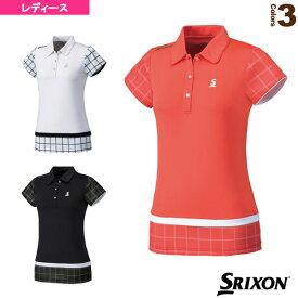 ポロシャツ/レディース(SDP-1626W)《スリクソン テニス・バドミントン ウェア(レディース)》