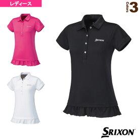 ポロシャツ/レディース(SDP-1629W)《スリクソン テニス・バドミントン ウェア(レディース)》テニスウェア女性用