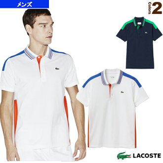 [Lacoste tennis-specialty (men 's/UNI)] POLOS / color block polo shirt / short sleeve / men (YH5523)