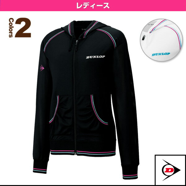 メッシュジャケット/レディース(TDF-5321W)《ダンロップ テニス・バドミントン ウェア(レディース)》