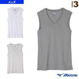 アイスタッチエブリ Vネックノースリーブシャツ/メンズ(C2JA5102)《ミズノ オールスポーツ アンダーウェア》