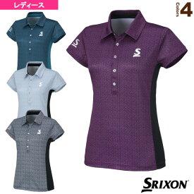 ポロシャツ/レディース(SDP-1663W)《スリクソン テニス・バドミントン ウェア(レディース)》テニスウェア女性用