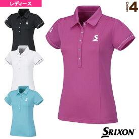 ポロシャツ/レディース(SDP-1668W)《スリクソン テニス・バドミントン ウェア(レディース)》テニスウェア女性用