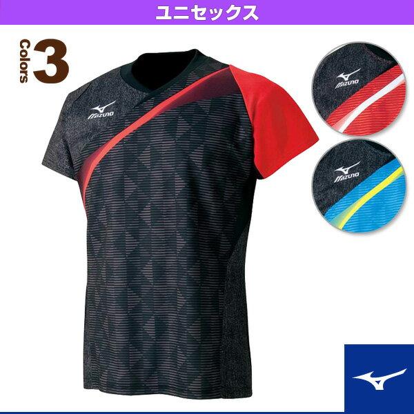 ゲームシャツ/2016年卓球日本代表着用モデル/ユニセックス(82JA6501)《ミズノ 卓球 ウェア(メンズ/ユニ)》