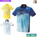 ポロシャツ/フィットスタイル/ユニセックス(10162)《ヨネックス テニス・バドミントン ウェア(メンズ/ユニ)》