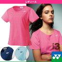 シャツ/スリムタイプ/レディース(20335)《ヨネックス テニス・バドミントン ウェア(レディース)》