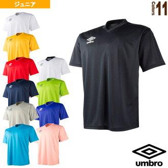 680e0f16953 Tennis Badminton Luckpiece   Umbro soccer ware (men  s UNI)  Jr. basic  secondary S S shirt   short sleeve   Junior (UBS7637J)