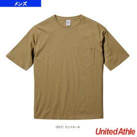 [ユナイテッドアスレ ライフスタイル ウェア(メンズ/ユニ)]【5着以上より】5.6オンス ビッグシルエットTシャツ(ポケット付)/メンズ(5008-01)