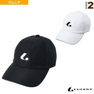 メッシュキャップ/ジュニア(XLE-183)《ルーセント テニス ジュニアグッズ》