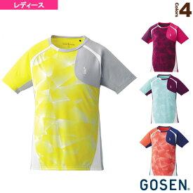 ゲームシャツ/レディース(T1705)《ゴーセン テニス・バドミントン ウェア(レディース)》