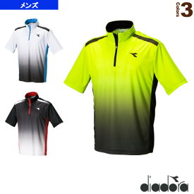 TEAM/ゲームシャツ/メンズ(DTG7332)《ディアドラ テニス・バドミントン ウェア(メンズ/ユニ)》