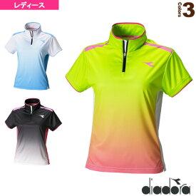 TEAM/W ゲームシャツ/レディース(DTL7342)《ディアドラ テニス・バドミントン ウェア(レディース)》
