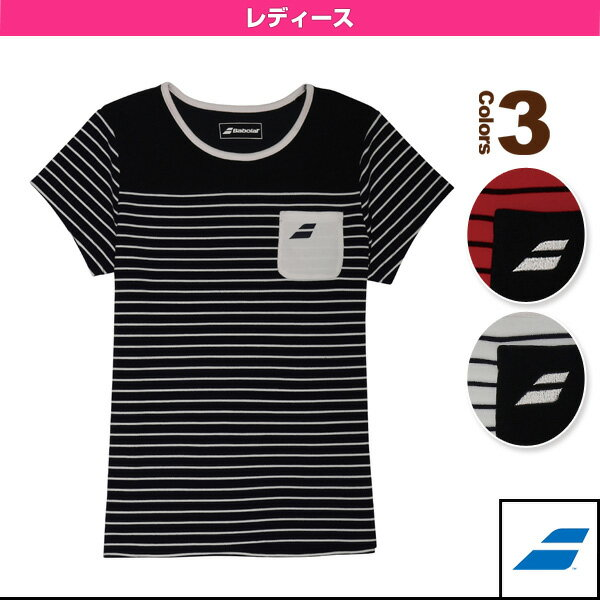 ゲームシャツ/レディース(BAB-1745W)《バボラ テニス・バドミントン ウェア(レディース)》