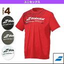 2017年03月上旬【予約】Tシャツ/ユニセックス(BAB-8706)《バボラ テニス・バドミントン ウェア(メンズ/ユニ)》