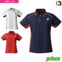 ゲームシャツ/レディース(TML159T)《プリンス テニス・バドミントン ウェア(レディース)》