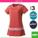 チュニックシャツ/レディース(WL7402)《プリンス テニス・バドミントン ウェア(レディース)》