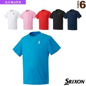 Tシャツ/クラブライン/ユニセックス(SDL-8603)《スリクソン テニス・バドミントン ウェア(メンズ/ユニ)》