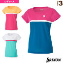 ゲームシャツ/レディース(SDP-1727W)《スリクソン テニス・バドミントン ウェア(レディース)》