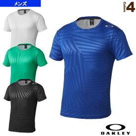 ACCELERATOR EMBOSS SS TEE 7.0/トレーニングシャツ/メンズ(433936JP)《オークリー オールスポーツ ウェア(メンズ/ユニ)》