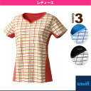 Tシャツ/レディース(0372013)《キットソン テニス・バドミントン ウェア(レディース)》