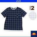 クルーネックTシャツ/メンズ(EM07206)《エレッセ テニス・バドミントン ウェア(メンズ/ユニ)》
